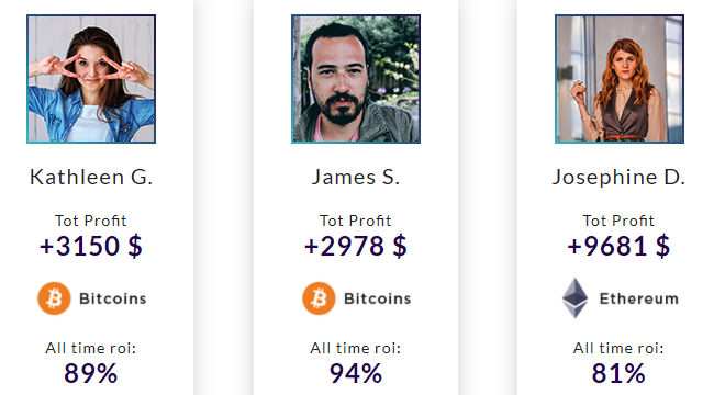 BestCoinBot Software Fake Results