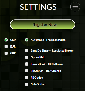 BinaDroid Account Setup
