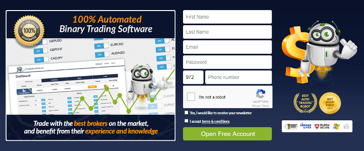 Binary option robot license