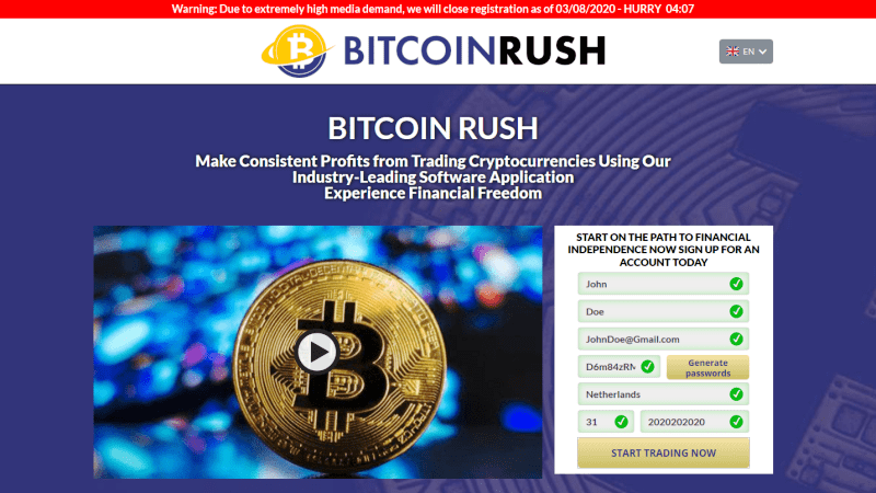 Bitcoin Rush Official Review