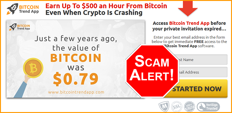 BitcoinTrendApp Official Scam