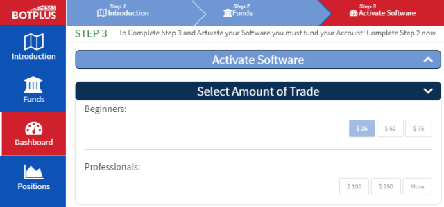 trade plus software