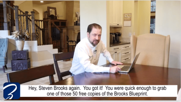 Scam broker investigator brooks blueprint review brooks blueprint scam video malvernweather Gallery