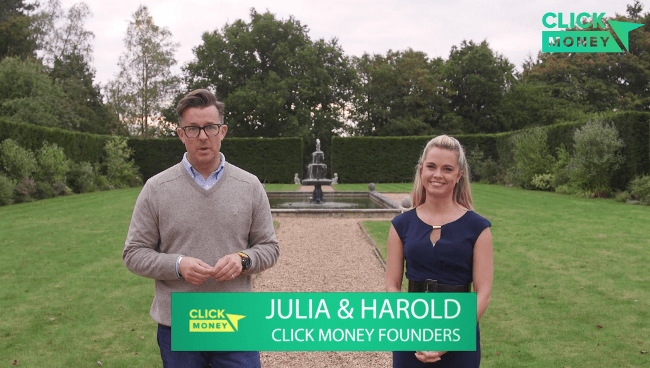 Click Money System Founders Julia & Harold