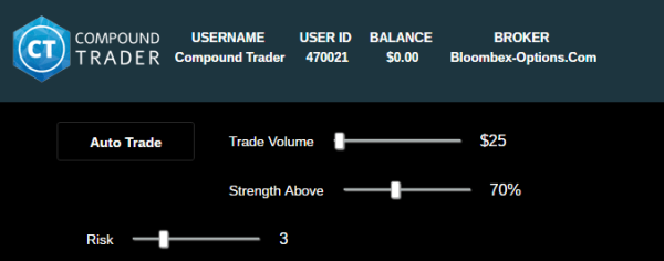 Trade compound options