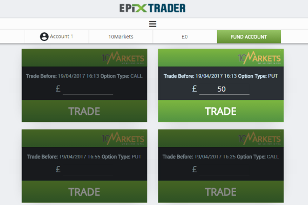 Epix Trader Binary Option Signals