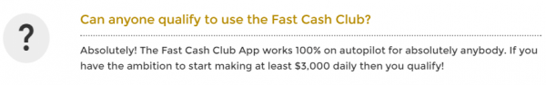 Fash Cash Club Software Fake
