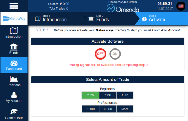 Gatesway Binary Options Trading Software