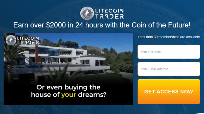 Litecoin Trader Software