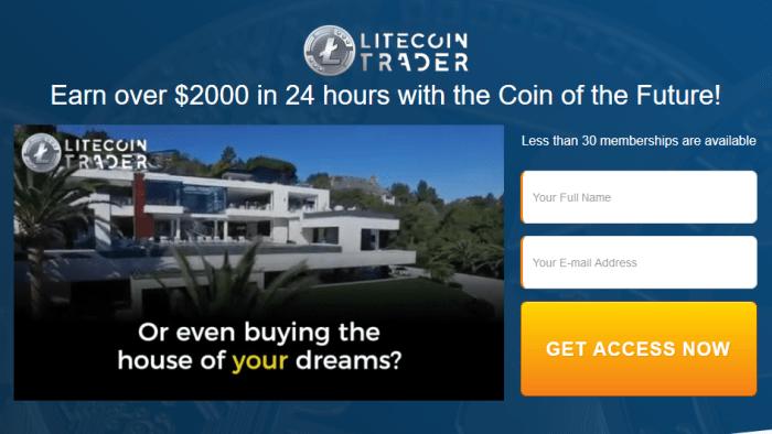 Litecoin Trader Software
