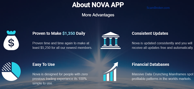 Nova App Promotional Information