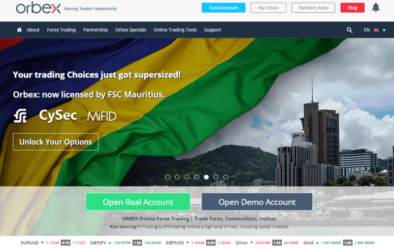 Orbex Brokers Review