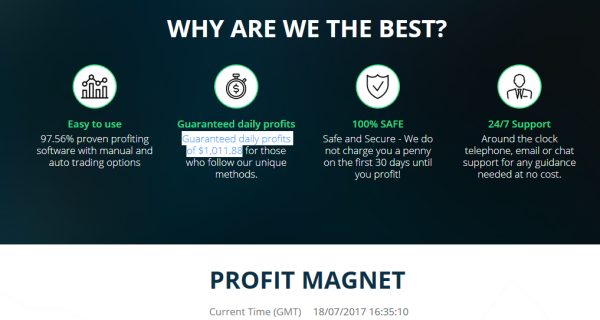 Binary options magnet bot review