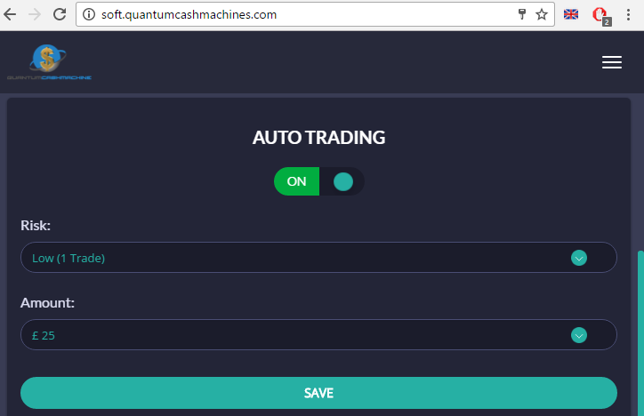 Quantum Cash Machine Auto Trading Software