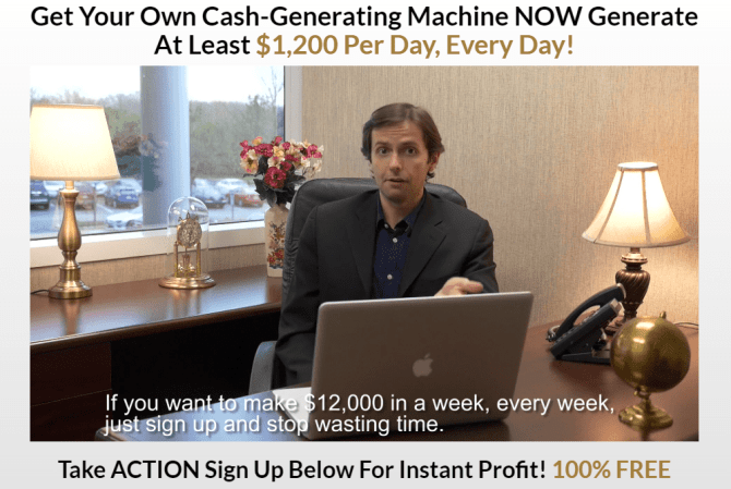 Quantum Cash Machine Fake Promises