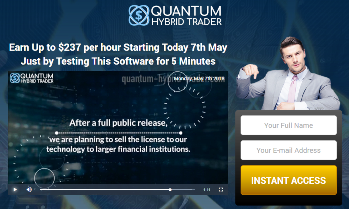 Quantum Hybrid Trader Software Reviews