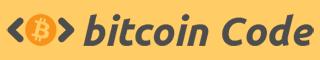 El código Logo Bitcoin
