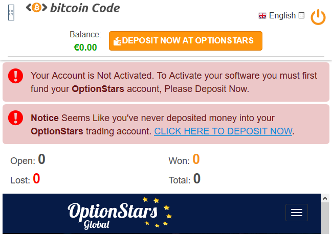 The Bitcoin Code Scam Trading System