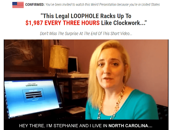 The Cash Loophole Promotional Video